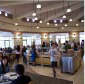 Inside Covel Commons dining hall